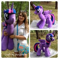 Big Plush Twilight Sparkle by RufousCat