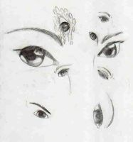 Eyes Study 3 by bubbles1994