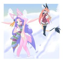 Snowball Fight by luna777