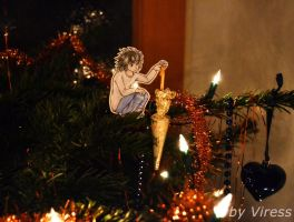 sweets in the christmas tree by Viress