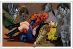 Death of Gwen Stacy. by Troianocomics