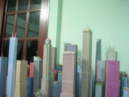 New Paper City 2010 by nitisit