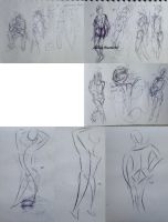 321 - 333 (1000 gesture drawing challenge) by anime-master-96
