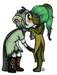 YCH Prize 3: Sage and Persephone by HaileyWailey