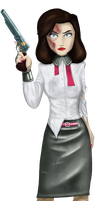 Burial at Sea - Elizabeth by The-Kinetic