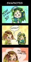 swapnote comic 1 by milkybee