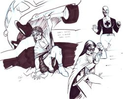 super sketches by abelgrave