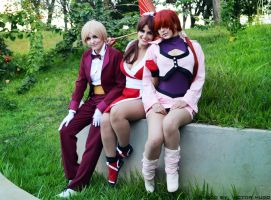 KoF Girls. by Shermie-Cosplay