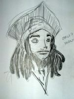 Retarded Jack Sparrow by hewtab