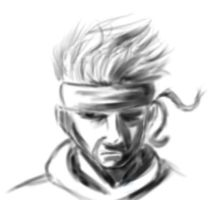Another Solid Snake by KimiSaku19