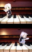 piano player by everyredqueen