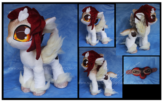 Commission: Owlette Custom OC Plush by Nazegoreng