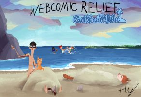 Webcomic Relief - Caribbean Blue by Toxodentrail