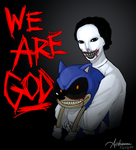 We are God by SUCHanARTIST13