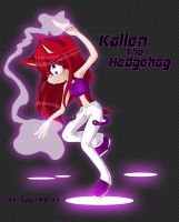 :Com: Kallen the Hedgehog by ARSugarPie