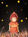 Setsuko - Grave Of The Fireflies by Lixuea