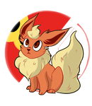 Flareon by Inevitable-Paralysis
