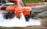 Chevy Chevelle Burnout by D3516N3R
