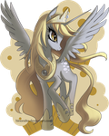 MLP FIM: Derpy Princess - Rejected Design by hinoraito