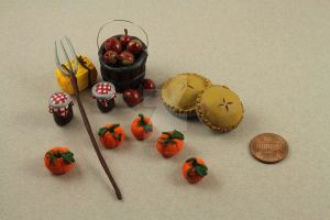 Miniature Farmer's Market Set by BeautifulEarthStudio