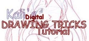 Digital Drawing Tricks : Eyes by Kalisama
