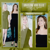 Photopack 0537 - Angelina Jolie And Elle Fanning by WhateverPhotopackss