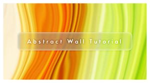 Abstract Wall Tutorial by deelo