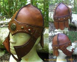 Helm of the Northern Warrior by baehrserker