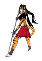 """Cill""-The-Tiger-Queen by DamyenHunt"
