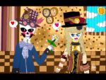 A love story about Steampunk couple by surimix