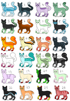14/24 OPEN cat adopts~ NAME YOUR PRICE by ADS-Adoptables