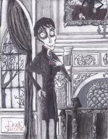 Barnabas Collins (claymation version?) by greekbeast1