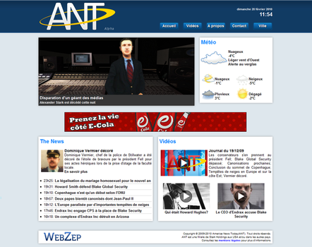 ANT Website by Dun9000