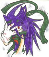 The Beast  Within ....EVIL Z....O_O by SONICJENNY