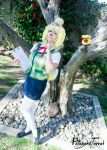 Animal Crossing: New Leaf - Isabelle Cosplay by HezaChan