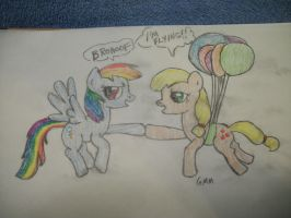 BRONIES Brohoof contest entry Flying by grandmoonma