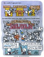 Epic, Vaguely Medieval Showdown by AK-Is-Harmless