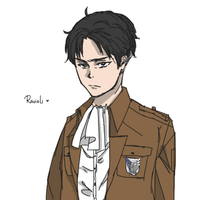 SNK: Levi Heichou by romano-loves-tomato