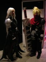Cloud and Sephiroth cosplay x3 by Dark--Halo