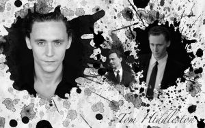 Tom Hiddleston Splatter by ValGravel