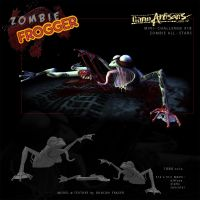 Zombie Frogger by DuncanFraser