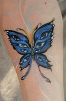 Blue Butterfly by Bhavasindhu