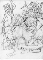 Bar sketch by scarecrowhassan