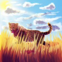 Cheetahs for Michael by dayylights