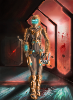 Dead Space 2 Girl by shadowseer66