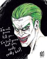 Joker (Jared Leto) in Suicide Squad by GabRed-Hat