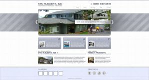 STN Builders Inc Web Design by bojok-mlsjr