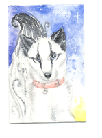 Puppy Charms - ACEO Trade by PoonieFox