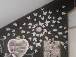 Butterflies on the wall by NIENKEdeGRAEF