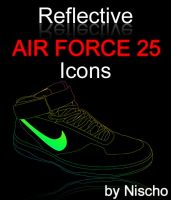 Air Force 25 Icons by Nischo